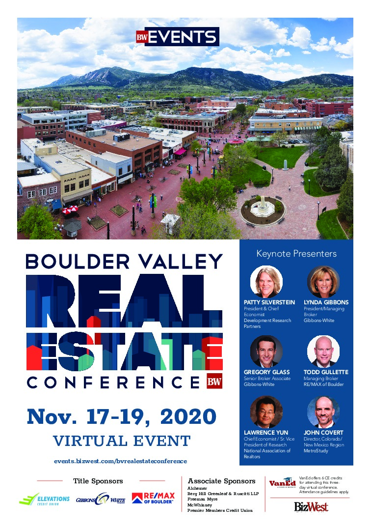 Boulder Valley Real Estate Conference – 2020