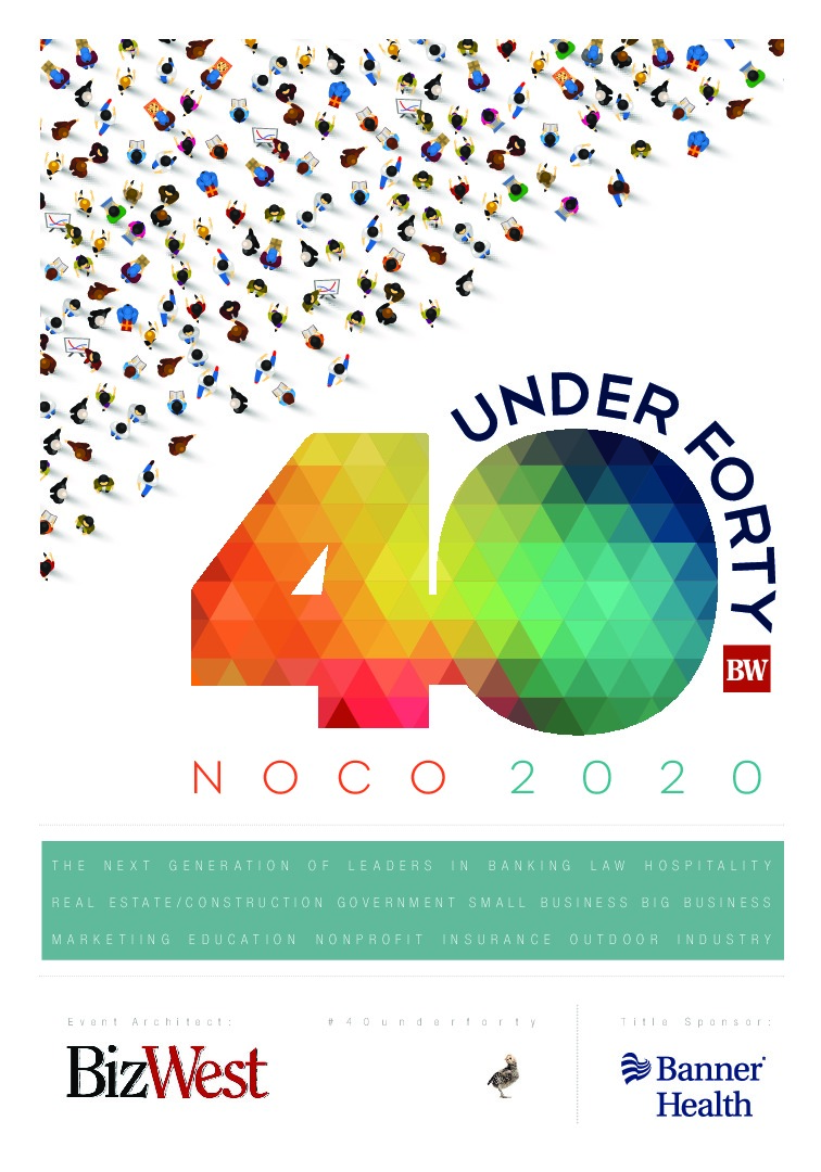 40 under Forty, Northern Colorado – 2020