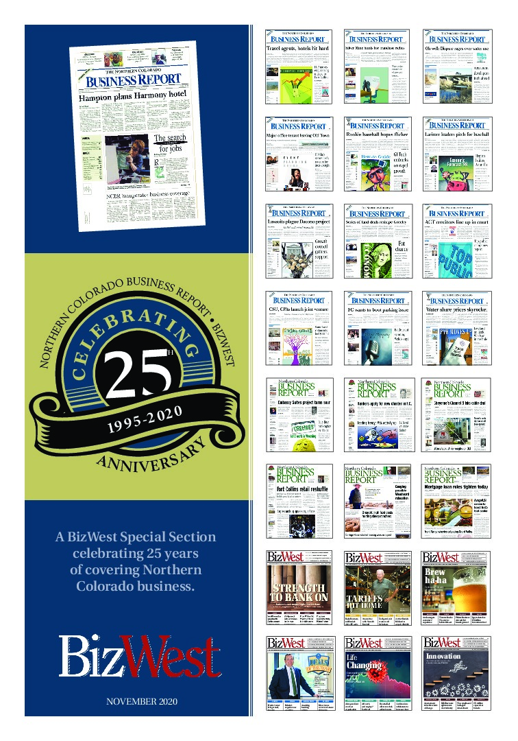 Celebrating 25th Anniversary – BizWest and Northern Colorado Business Report